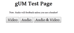 getuserMedia test page thumb Firefox 20: Download Panel, Plugin Hang UI and Per Window Private Browsing