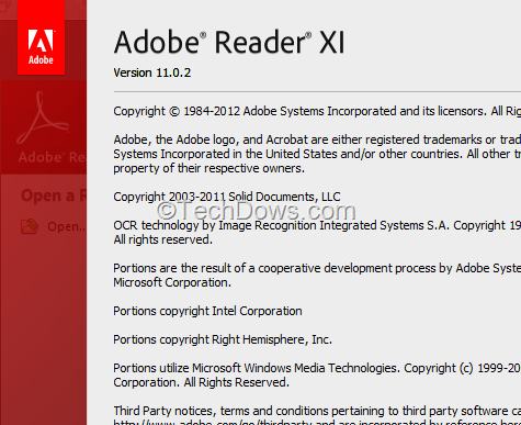Adobe reader xi 11 0 2 released techdows