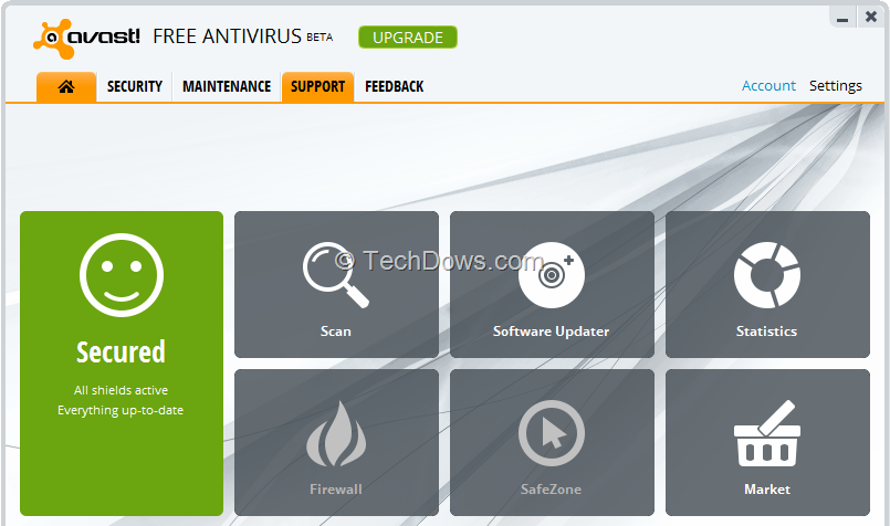 how to cancel free subscrption from avast
