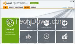 Avast 8 free antivirus beta 2 ui