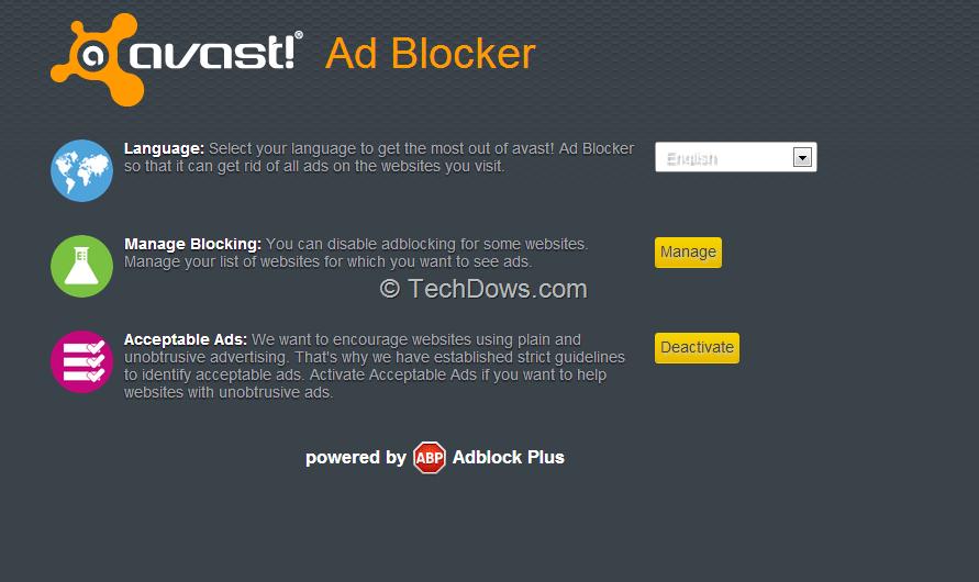 avast add blocker