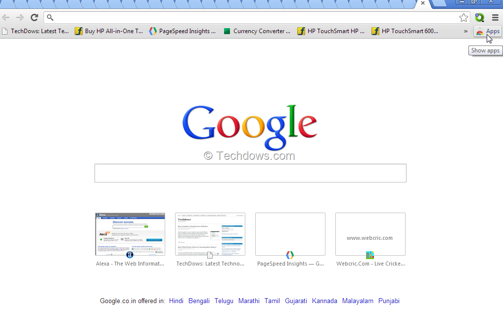 Chrome New Tab Page Adds Search By Default, Do You Like It?