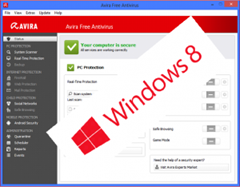 Avira Free Antivirus 2013 gets Windows 8 certification