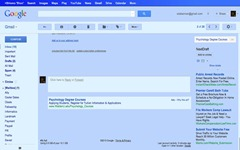 Gmail Blue Chrome Extension