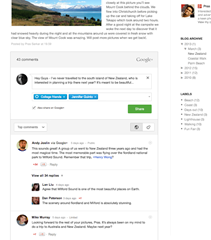 Google Plus Comments Blogger