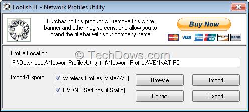 restore windows 7 user profile from backup