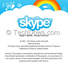 Skype 6.5 Beta for Windows