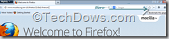 bookmark star button moved out of address bar