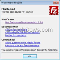 FileZilla 3.7.0