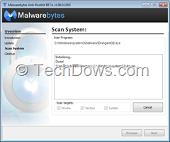 Malwarebytes Anti-Rootkit Beta