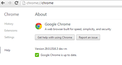 chrome 29 dev channel Windows