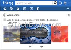 Bing Destkop
