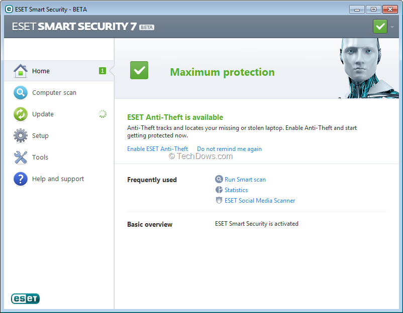 Eset Smart Security 7 Beta And Eset Nod32 Antivirus 7 Beta