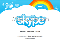 Skype 6.5 final for Windows