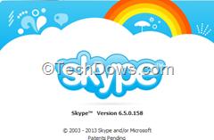 Skype 6.5 final for Windows