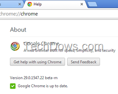 Download Chrome 29 Beta Windows, Mac and Linux
