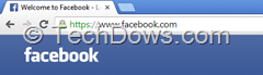 Facebook now https secure browsing