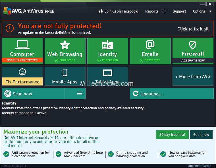 free download avg antivirus 2014 setup exe