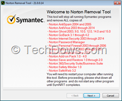 Norton Removal Tool 21 Norton 2014