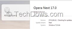 Opera 17 Next