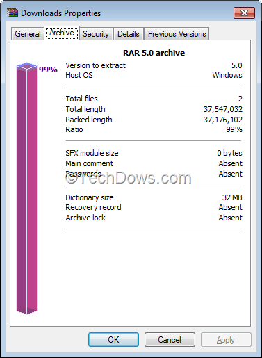 How to Create, Open and Identify RAR5 Archive File