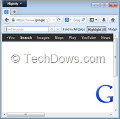 findbar on top in Firefox 25
