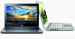 Acer C720 Chromebook and HP Chromebook 14 in India