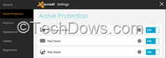 Avast 2014 active protection with shields