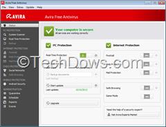 Avira Free Antivirus 2014