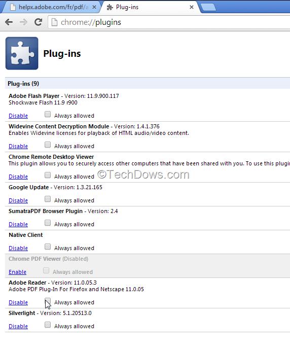 Pdf reader chrome adobe plugin