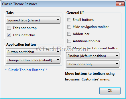 Add-on to Revert Firefox Australis Interface to Classic Look