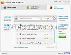Auslogics Browser Care portable