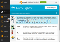 Avast GrimeFighter thumb1 How to Uninstall GrimeFighter from Avast?