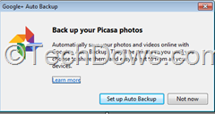 Google Plus Auto Backup