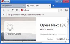 Opera 19 Next