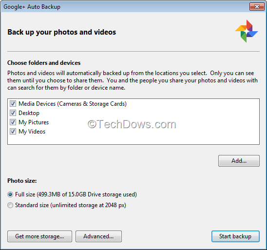 how to delete auto backup videos