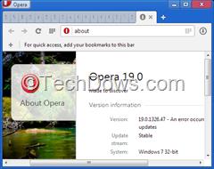 Opera 19