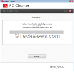 Avira PC Cleaner English