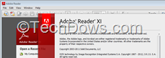 Adobe Reader XI version 11.0.07