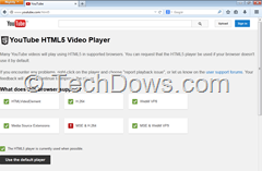 Firefox Media Source Extensions HTML5  video player