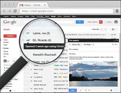 MalTrack Chrome extension Gmail