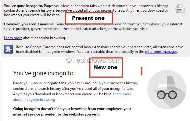how to close incognito window