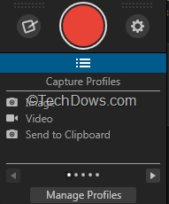 new capture window