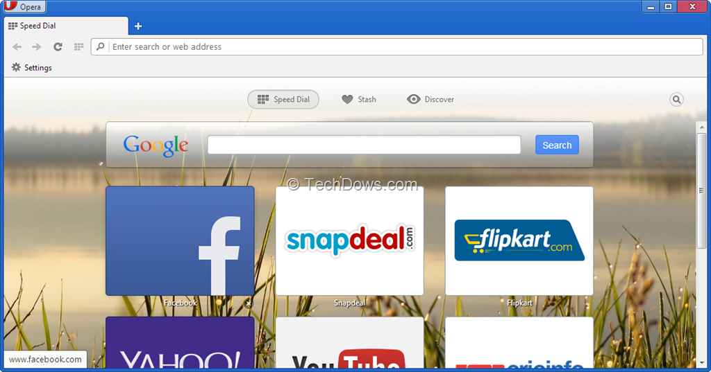 How to Restore Old Speed Dial Page and Move New Navigation Bar ...