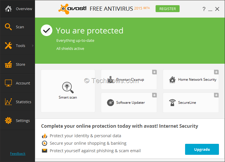 Avast Free Antivirus 2015 Beta available with Home Network Security