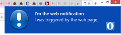 opera web notification