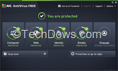 AVG Antivirus Free 2015 new interface