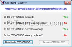 CFTMon Remover