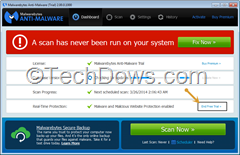 How to Revert to Malwarebytes Free from Premium Trial?