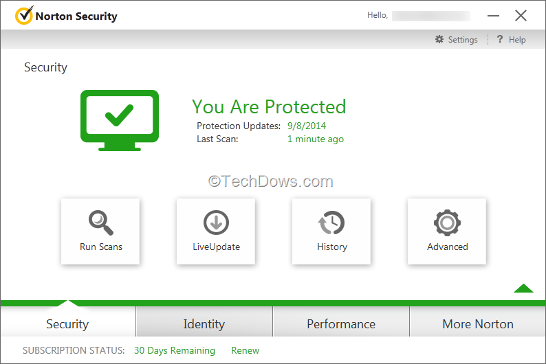 Download 30 Day Trial Of Norton Security 2015
